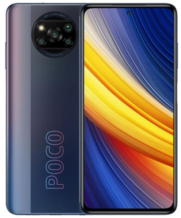 Смартфон Xiaomi POCO X3 PRO NFC 8/256Gb Phantom Black (витрина)