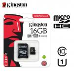 MicroSDHC 16Gb Kingston